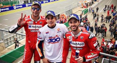 """MotoGP Francia, Dovizioso: """"Bella gara, ma ci manca ancora qualcosa"""""""