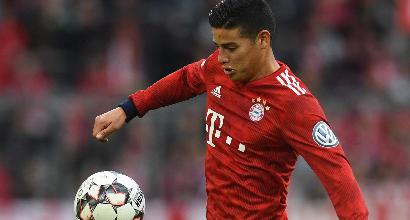James saluta il Bayern: