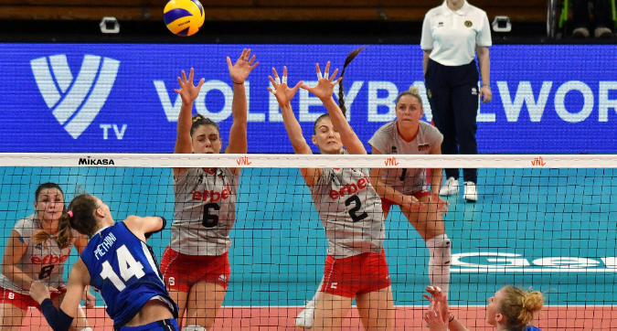 Volley, Nations League: l'Italia schiaccia 3-0 la Bulgaria