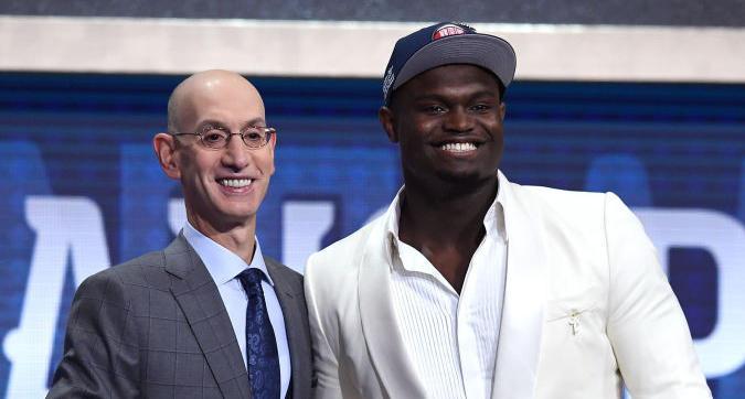 Nba Draft 2019, Williamson numero uno a New Orleans