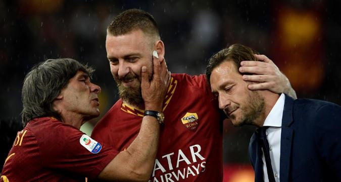 De Rossi ha deciso: continua a giocare e lo farà ancora in Serie A
