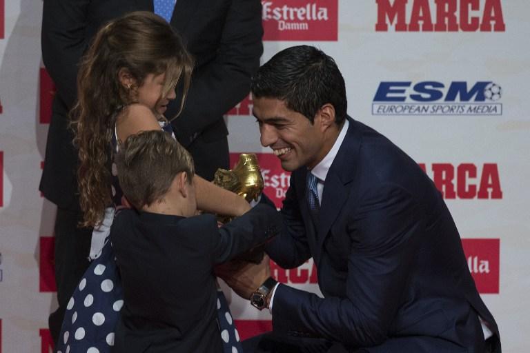 Suarez, Scarpa d'Oro 2015/2016