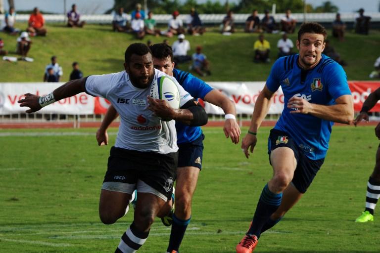 L'Italrugby sconfitta dalle Fiji