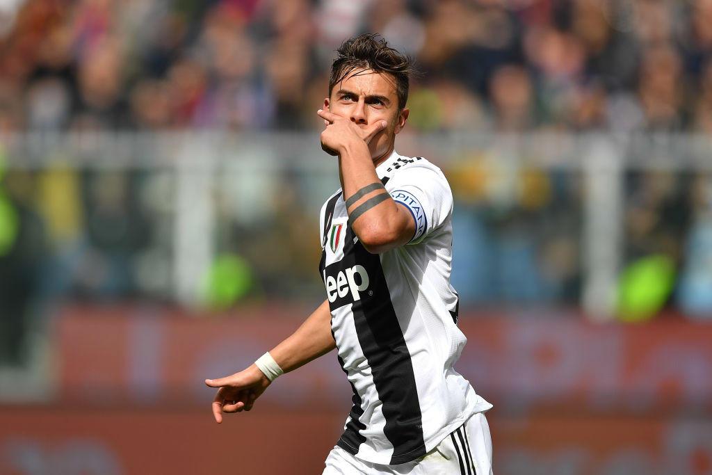 15 - Paulo Dybala alla Juventus (40 mln)