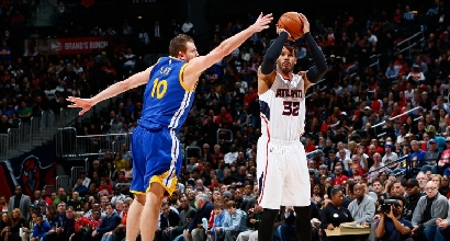 Nba: dominio Atlanta, suo il big match con Golden State