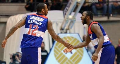 Basket, Serie A: Venezia non molla, Brindisi piegata