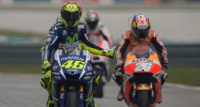 Rossi, a Valencia serve l'impresa per vincere il Mondiale