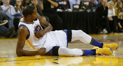 Nba: Gallinari trascina i Nuggets, Durant senza pietà con i Thunder