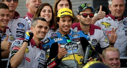 Moto2: a Valencia vince ancora Zarco, Morbidelli terzo