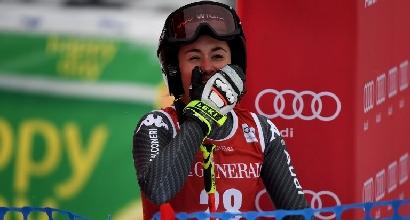 Sci, Super G Lake Louise: trionfa Lara Gut, Sofia Goggia è terza
