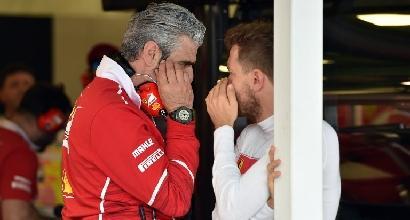 """F1, Vettel: """"La Mercedes non mi spaventa, ma siamo realisti"""""""