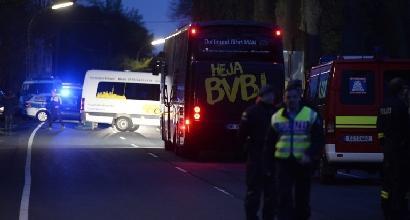Attacco al pullman del Dortmund: arrestato un uomo di 28 anni con passaporto tedesco e russo