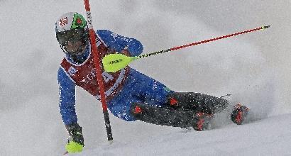Sci, Gross sesto nello slalom di Val d'Isere