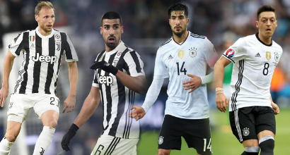"""""""Özil alla Juve"""": con l'arrivo di Emre Can, i bianconeri parleranno tedesco"""
