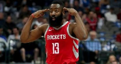 Nba, Harden trascina Houston