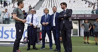 """Il rinnovo di Marotta: """"Io e il mio gruppo avanti con la Juve. La Figc è un sogno per il futuro"""""""
