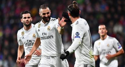 Champions League: il Real torna grande, travolto 5-0 il Viktoria Plzen