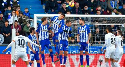 Liga: l'Alaves ribalta il Valencia, il Betis crolla contro il Huesca