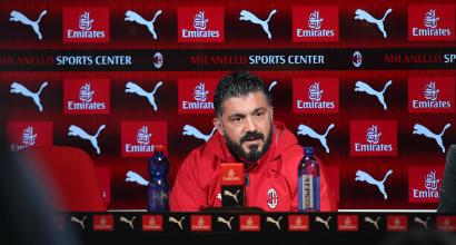 """Gattuso: """"Piatek sembra Robocop"""""""