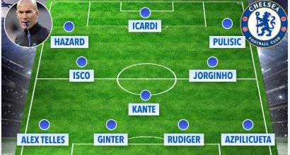 I tifosi del Chelsea contro Sarri: