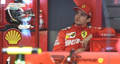 Ferrari, Leclerc stecca il primo esame: