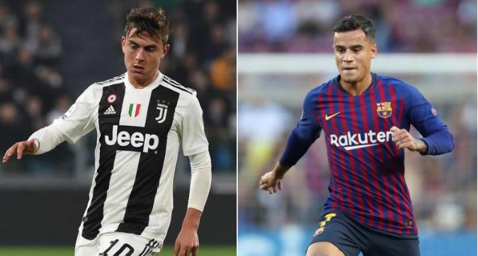 Sondaggi Juve per Coutinho, al Barcellona piace Dybala
