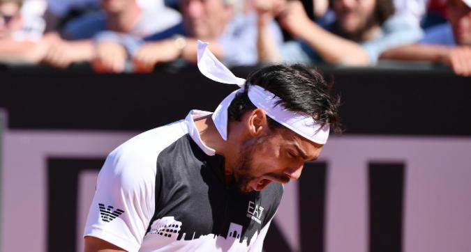 Tennis, Fognini contro il direttore degli Internazionali: