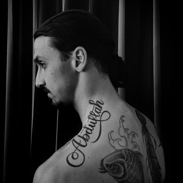 Ibrahimovic, tattoo mania