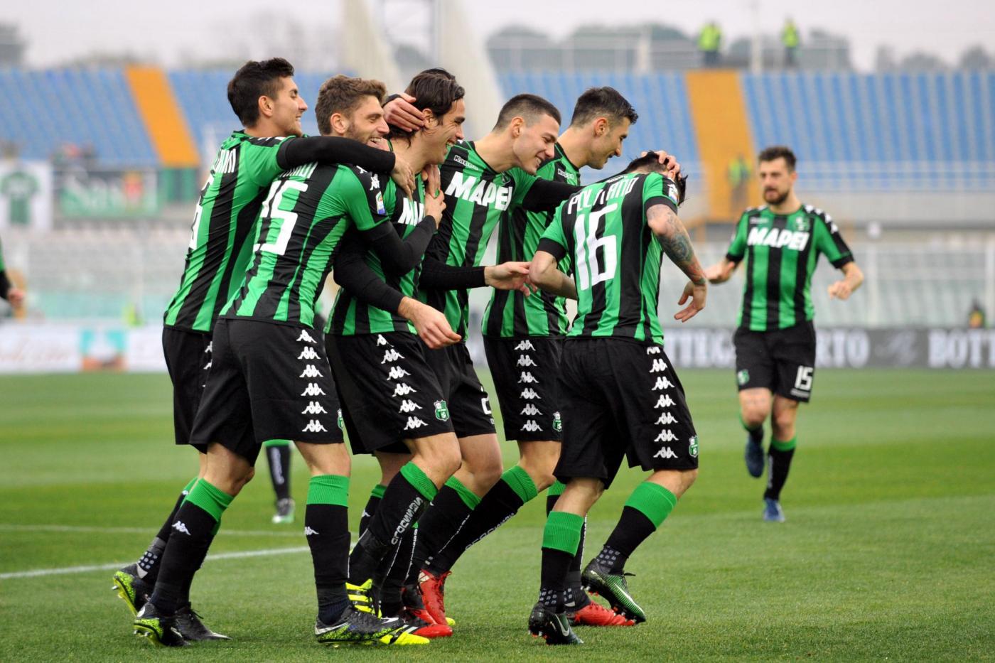 Serie A: tris Sassuolo, il Pescara sempre ultimo