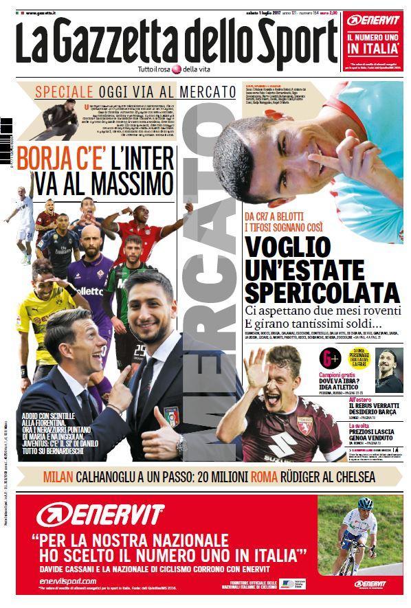 Lo sport sui quotidiani sportivi italiani e stranieri