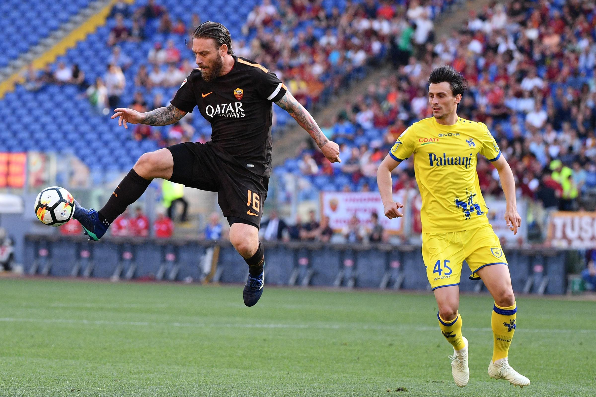 Serie A, Roma-Chievo 4-1: tutto facile con Schick, El Shaarawy e Dzeko