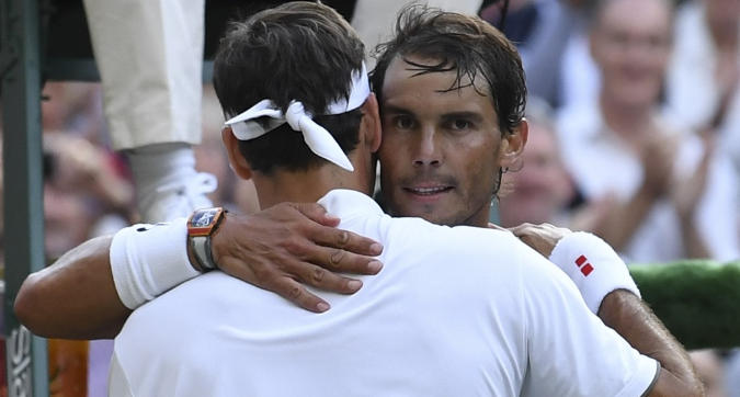 Rafa-Roger, sfida eterna a Wimbledon