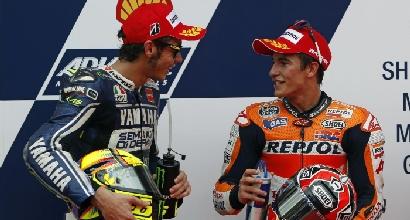 Rossi e Marquez (LaPresse)