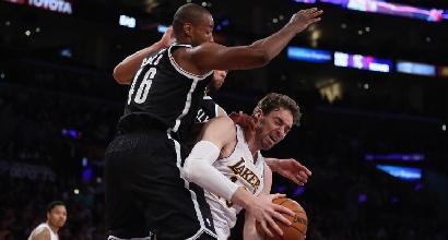 Nba: Brooklyn passa, Lakers di nuovo ko