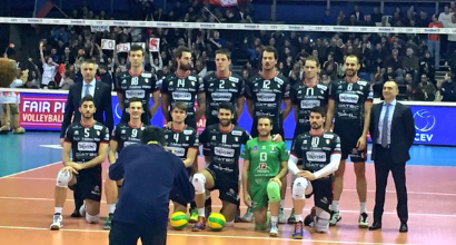 Volley, Champions League: Trento vola alle Final Four