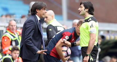"""Lazio, Inzaghi: """"Penalizzati dall'arbitro"""""""