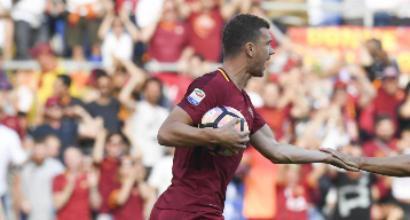 """Dzeko:""""Sogno lo scudetto con la Roma"""""""
