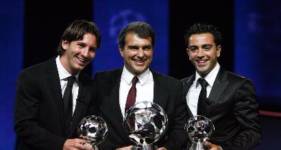 Barca: Laporta, retroscena su Messi