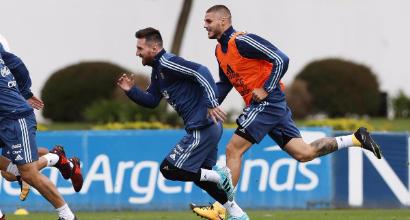 """Argentina, Messi: """"Un veto a Icardi? Sono tutte bugie"""""""