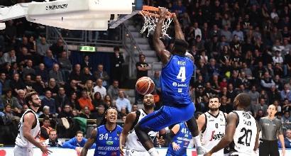 Basket, Serie A: Brescia inarrestabile, travolto 87-53 Capo d'Orlando