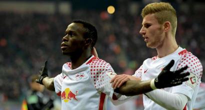 Dopo il Bayern c'è solo il Lipsia: Schalke sconfitto 3-1