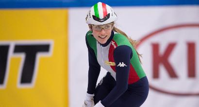 Europei short track, bis d'oro per Valcepina: trionfo nei 1500 e 500