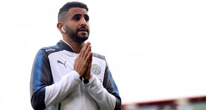 Mahrez è tornato ad allenarsi: