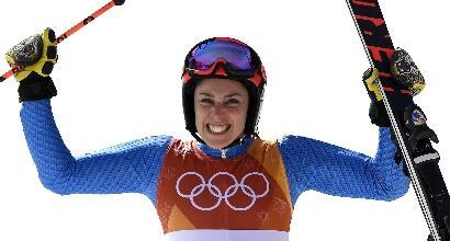 """Olimpiadi, Brignone: """"Sono commossa come mai prima"""""""