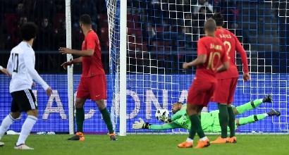 Il gol di Salah al Portogallo, Afp