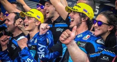 Moto2 Thailandia, Bagnaia trionfa e allunga su Oliveira