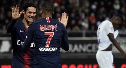 Ligue 1: il Psg rialza la testa, 3-0 sul campo dell'Amiens