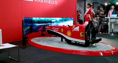 Ferrari scelto il team per il simulatore