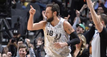 Nba: Curry domina Westbrook, San Antonio vince l'ottava gara consecutiva