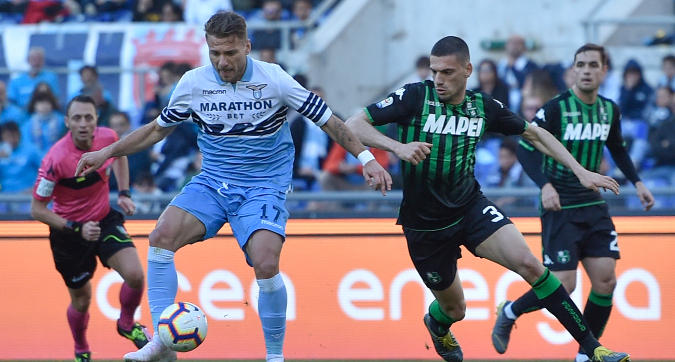 Serie A, Lazio-Sassuolo 2-2: Lulic salva Inzaghi nel recupero